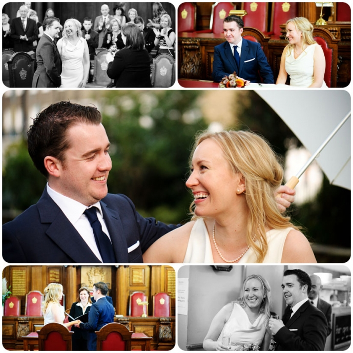 London Wedding Islington Town Hall