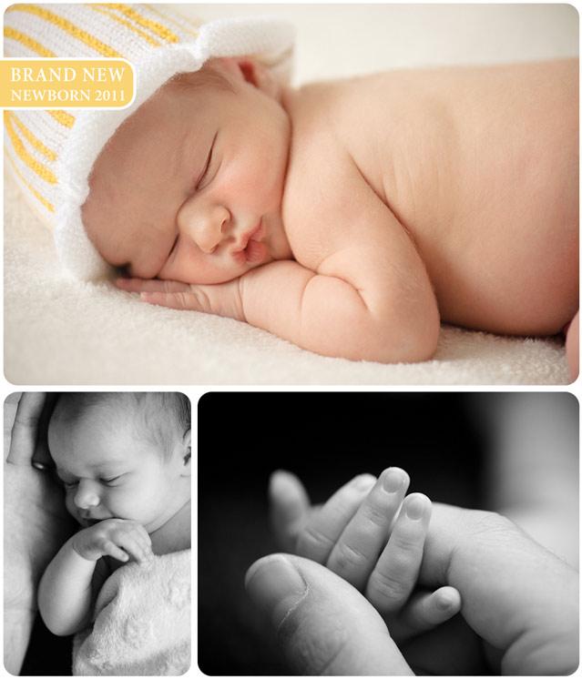 Professional newborn baby portraits taken in Burgess Hill