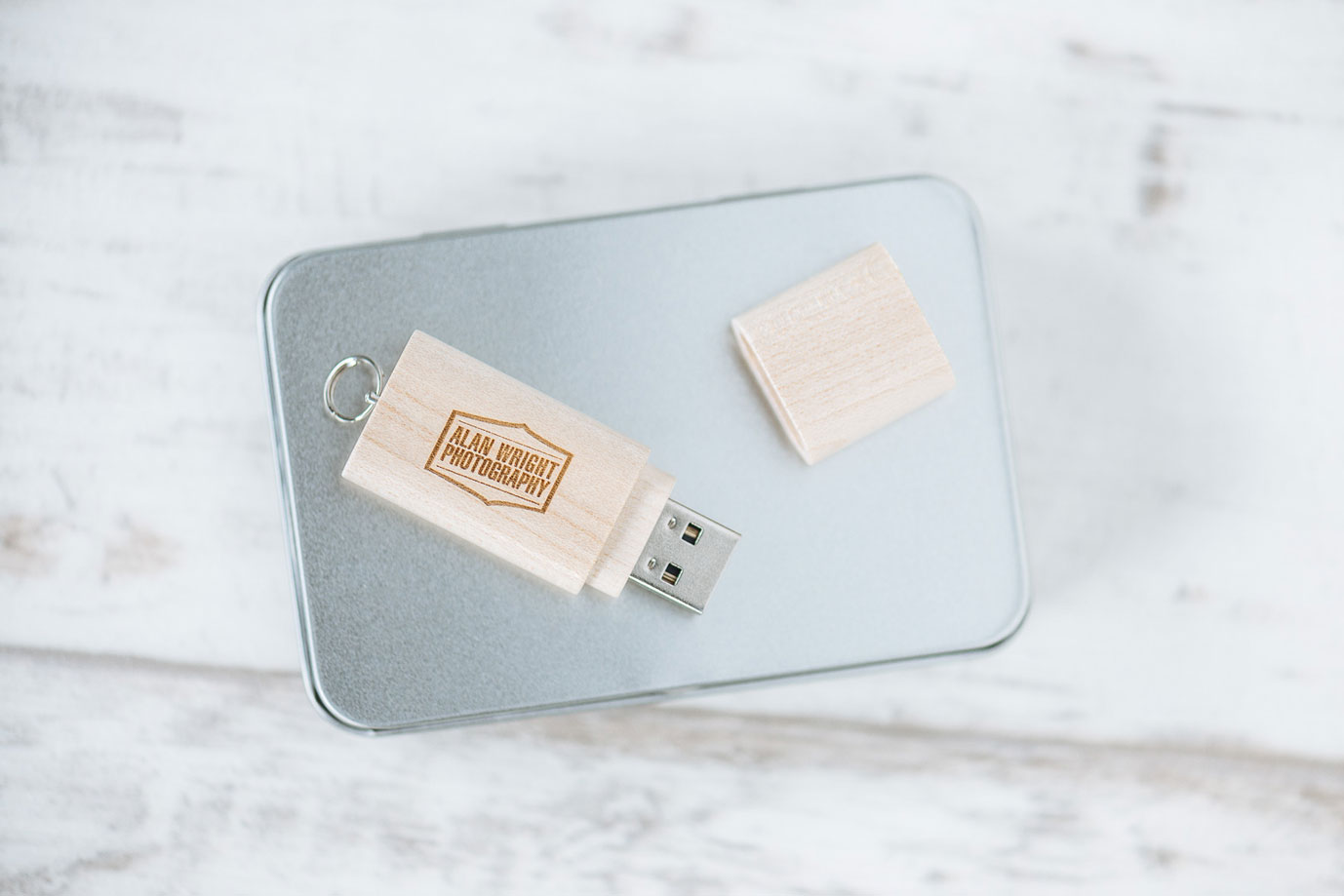 Wooden USB Flash Media Stick from Alan Wright Photography