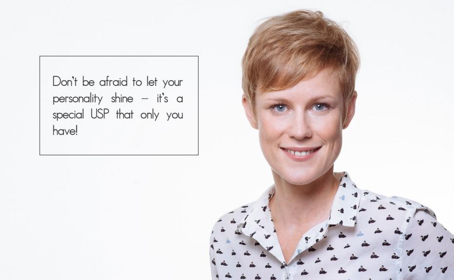 Modern female business portrait