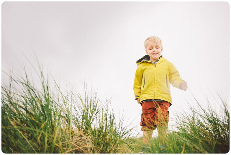 Professional beach location photography for children