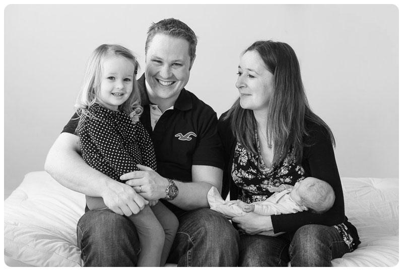 Family Photography at the Horsham Studio