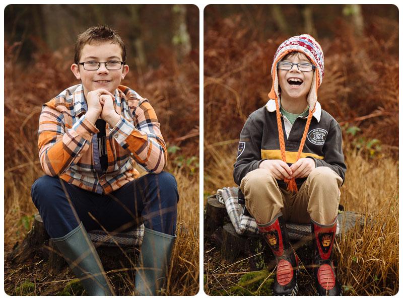 fun individual portraits of children