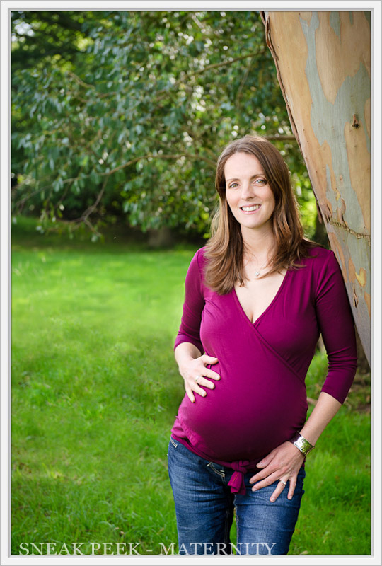 outdoor maternity photography