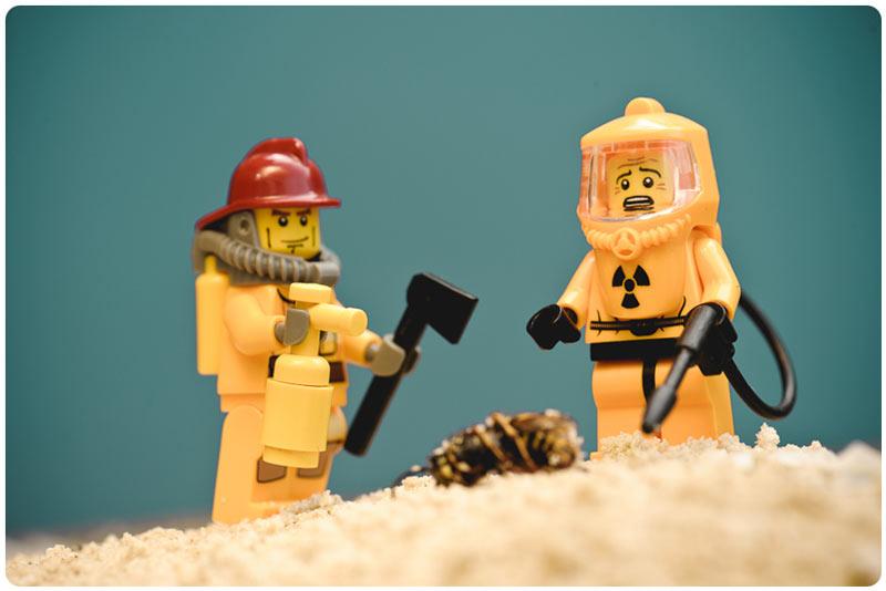 Creative use of LEGO men