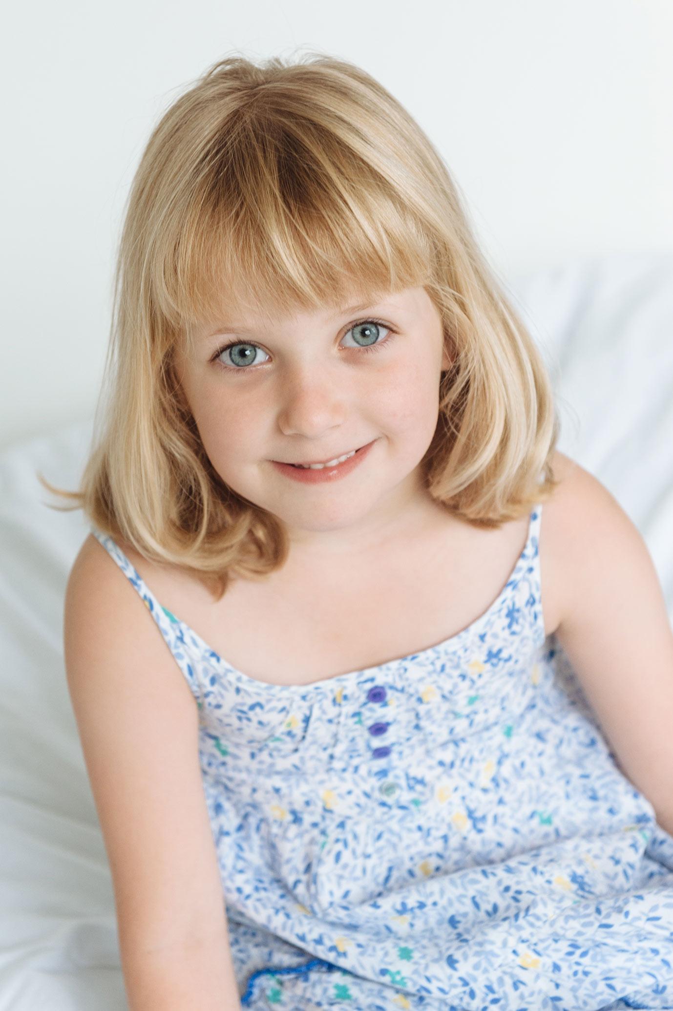 natural children's portrait shoot