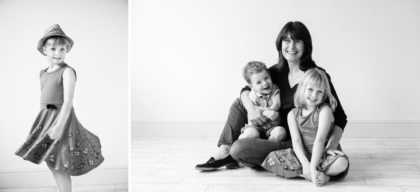 Mum and children photography