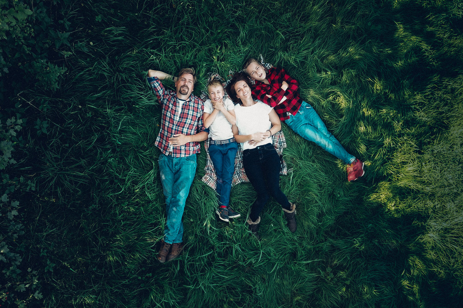 Family Portraits From Above – Drone Photography